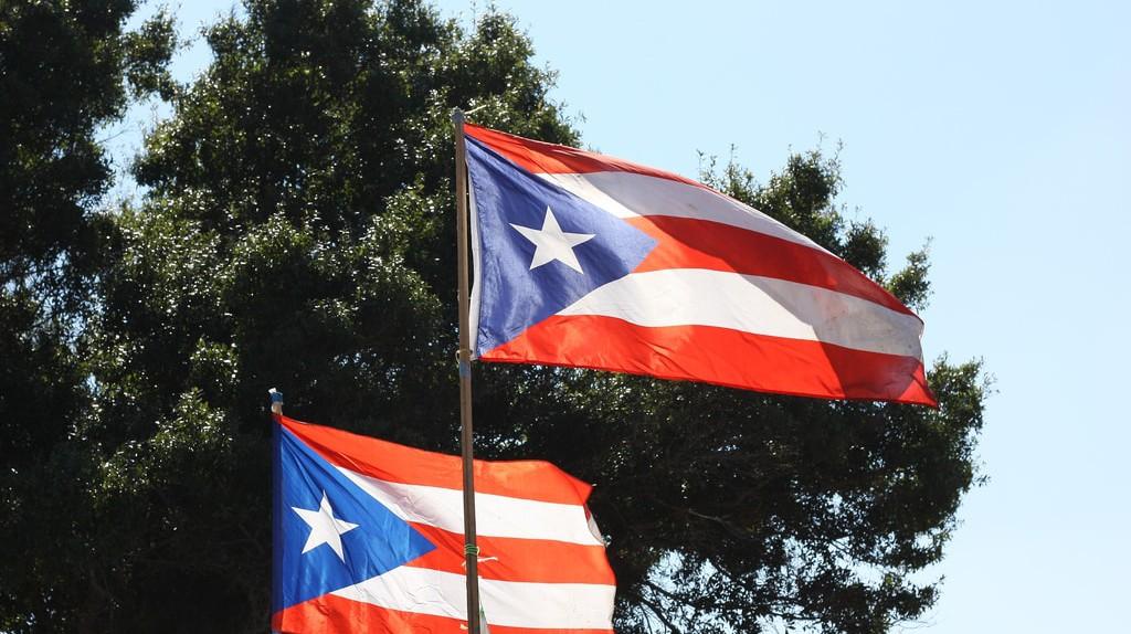 Puerto Rican flag   © Marcus Quigmire/Flickr