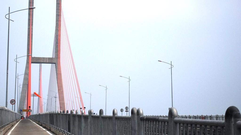 Suramadu Bridge in Surabaya, Indonesia