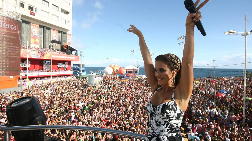 Open air show with Ivete Sangalo |© Turismo Bahia / Flickr