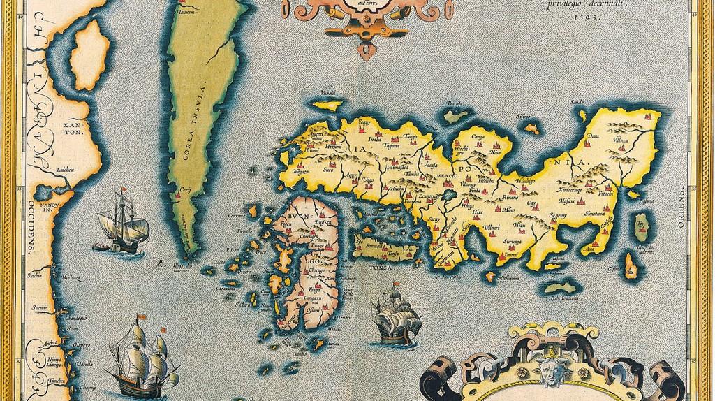 Antique map of Japan, 1595 | rosario fiore / Flickr