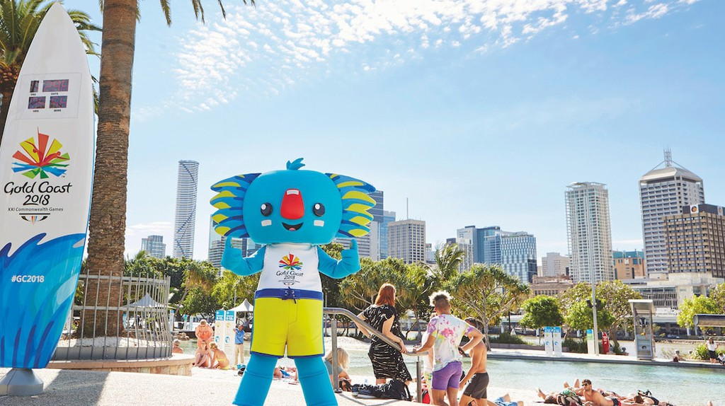 Borobi the mascot of the 2018 Commonwealth Games | © TEQ