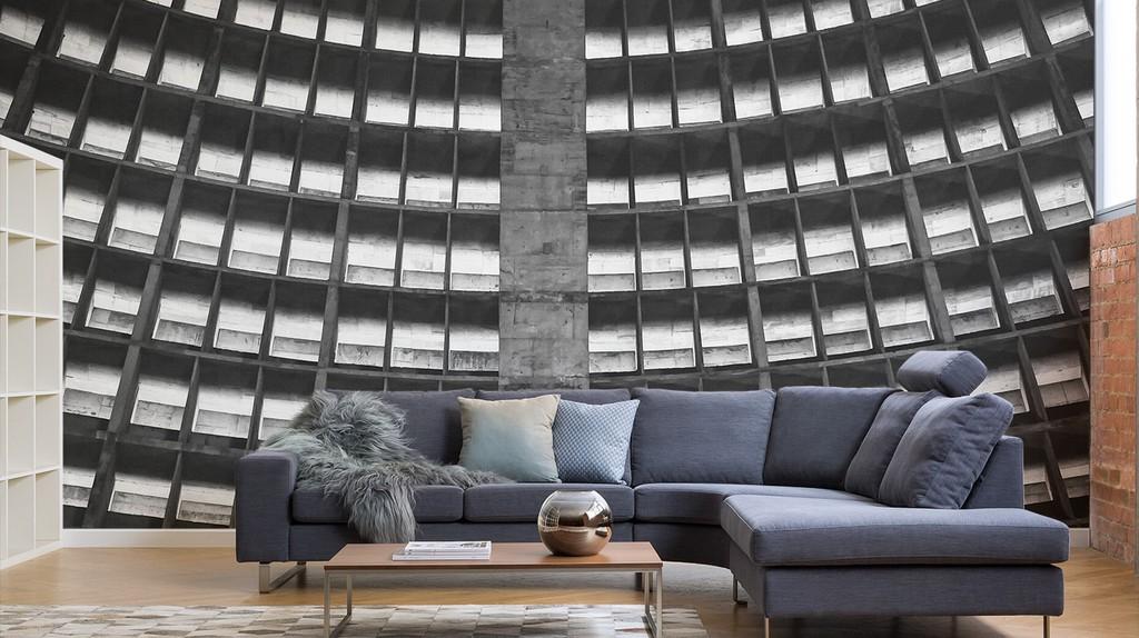 Brutalist Wallpaper for Your Concrete Jungle Apartment