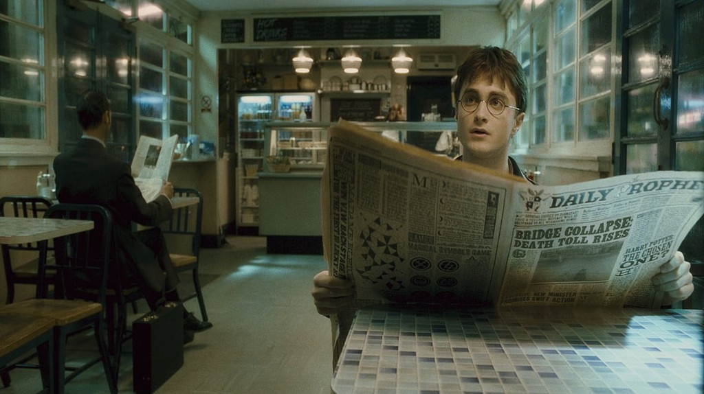 Did you know that this Harry Potter film was partially shot in Norway?   Courtesy of Warner Bros