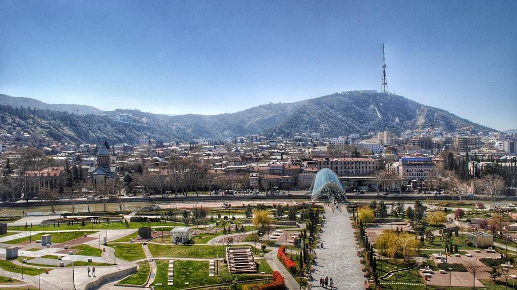 View of the Rike Park in Tbilisi | © Baia Dzagnidze