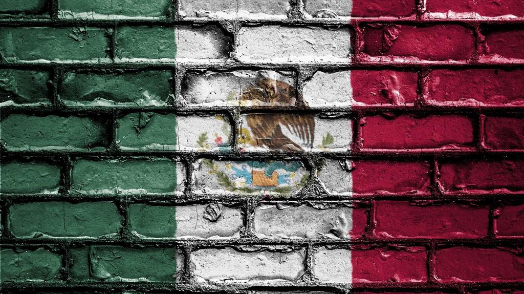 Mexico map mural | © Public_Domain_Photography / Pixabay