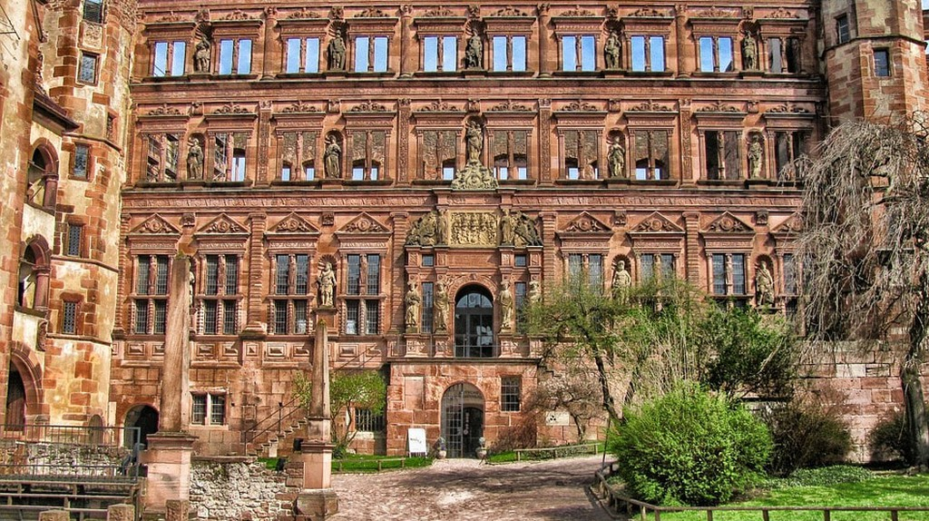 Heidelberg Castle | © 12019 / Pixabay
