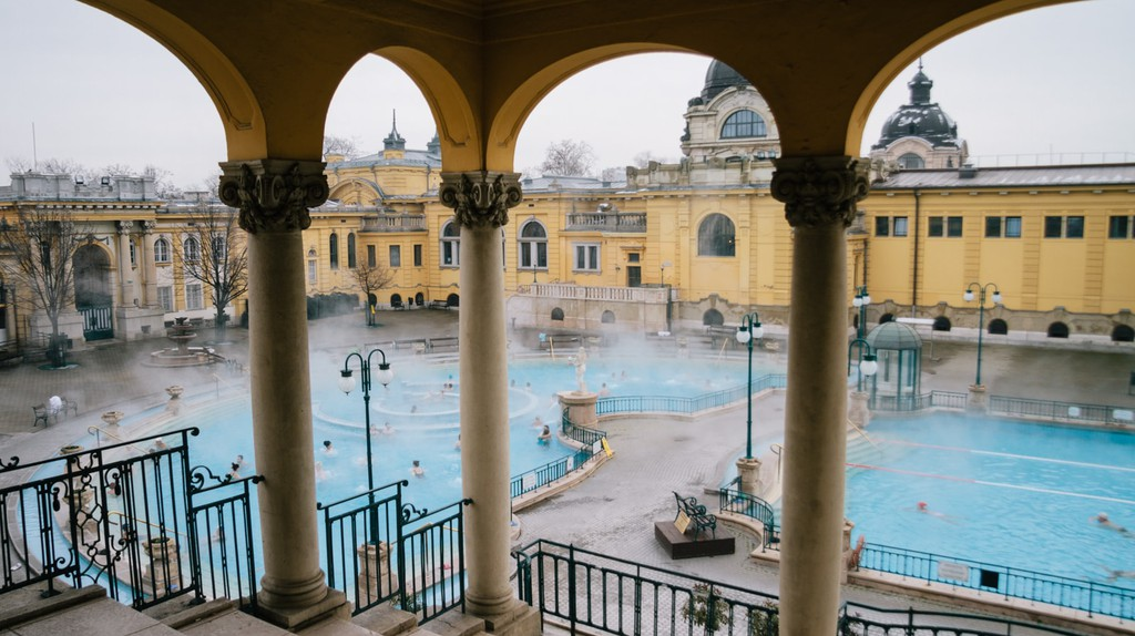Széchenyi Baths, the Most Famous Spa in Budapest