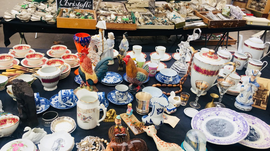 Search For Vintage Treasures at Paris' Puces de Vanves Flea Market