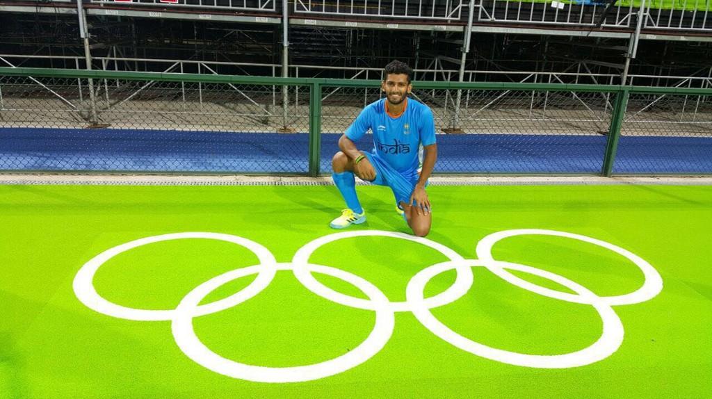 Indian Hockey Player at Rio Olympics 2016   © Hockey India / WikiCommons