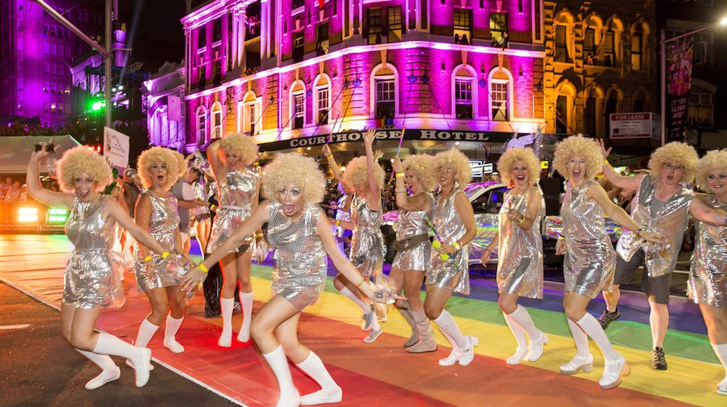Mardi Gras parade   © Destination NSW