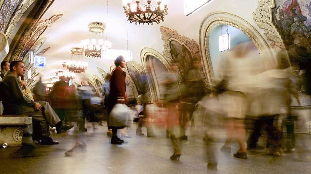 Kievskaya station in Moscow's metro system   © Worldtraveller / WikiCommons
