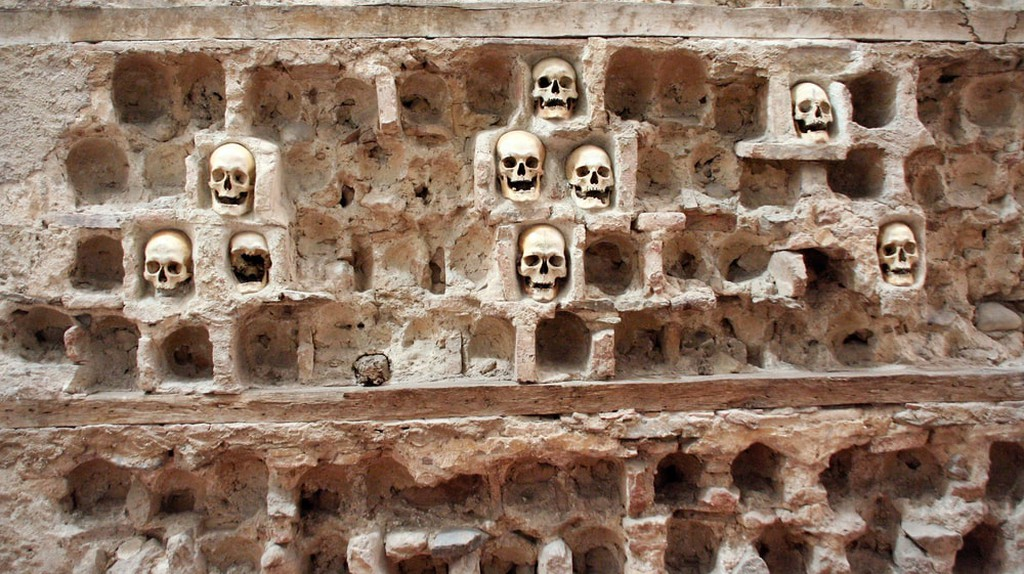The grisly Skull Tower in Niš   © asiana/shutterstock