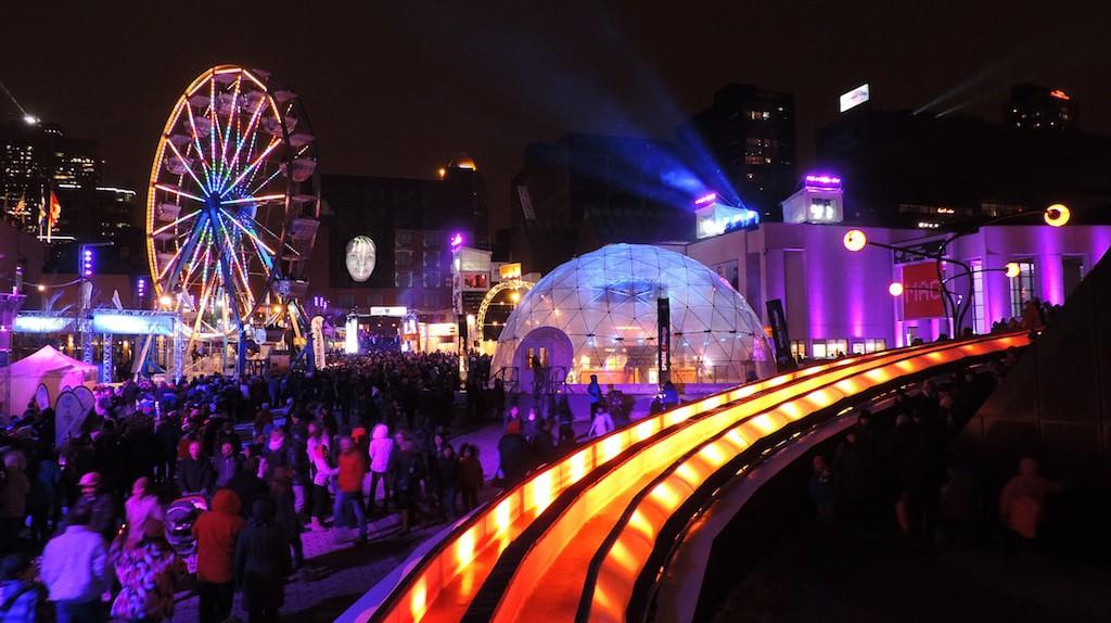 Montreal en Lumière, Nuit Blanche