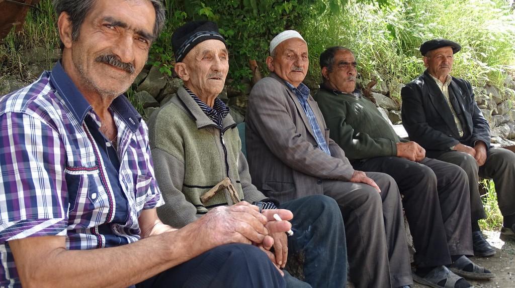 Local men in one of the villages in Azerbaijan   © Adam Jones/Flickr