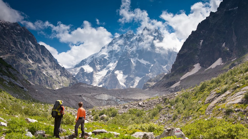 Hiking in the Caucasus is challenging but also rewarding    By My Good Images/Shutterstock