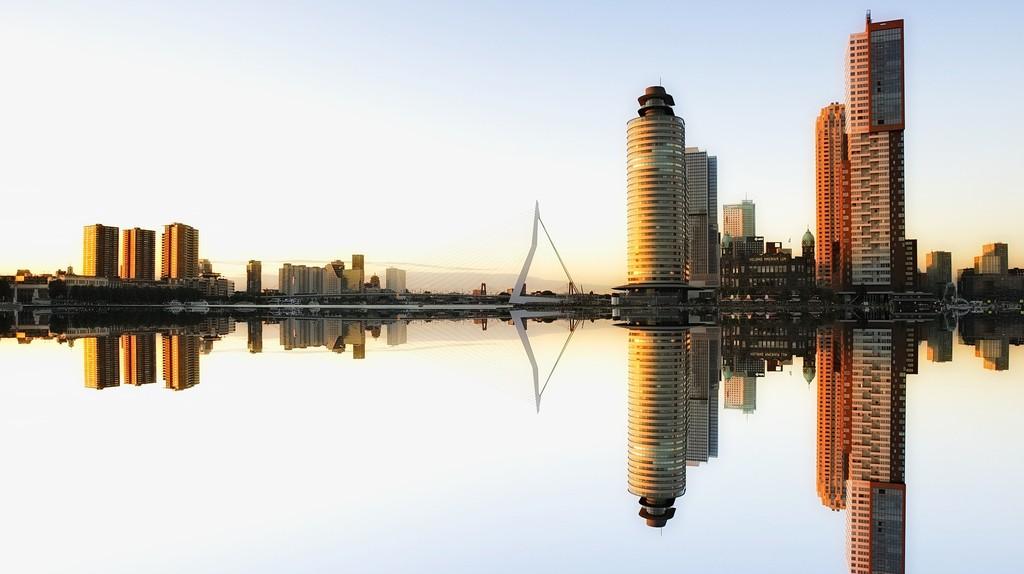 Rotterdam's skyline | © 3093594/Pixabay