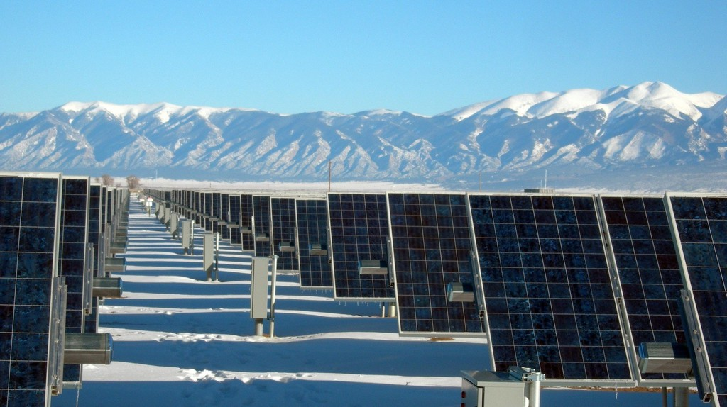 Solar panel plant | © Pexels
