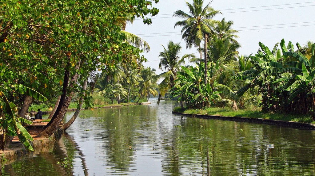 The quiet backwaters of Kerala | © McKay Savage/Flickr