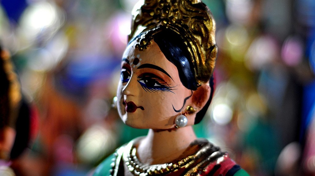The bobblehead dolls of Thanjavur are one of the most popular cultural exports of this ancient town | © Srikaanth Sekar/Flickr