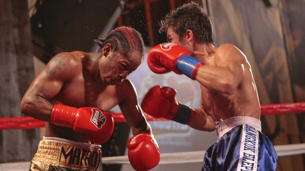 Two Muay Thai fighters in the ring | © WorldSeriesBoxing / Flickr