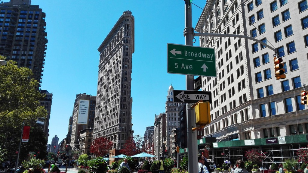 The Flatiron district in Manhattan is home to many technology startups