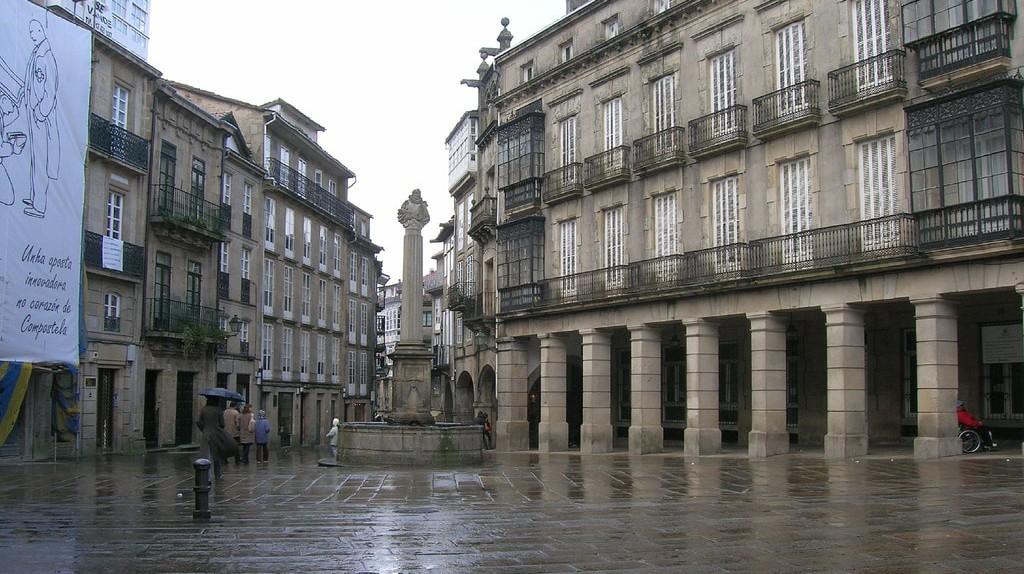 A rainy day in Santiago de Compostela | © José Antonio Gil Martínez / Flickr