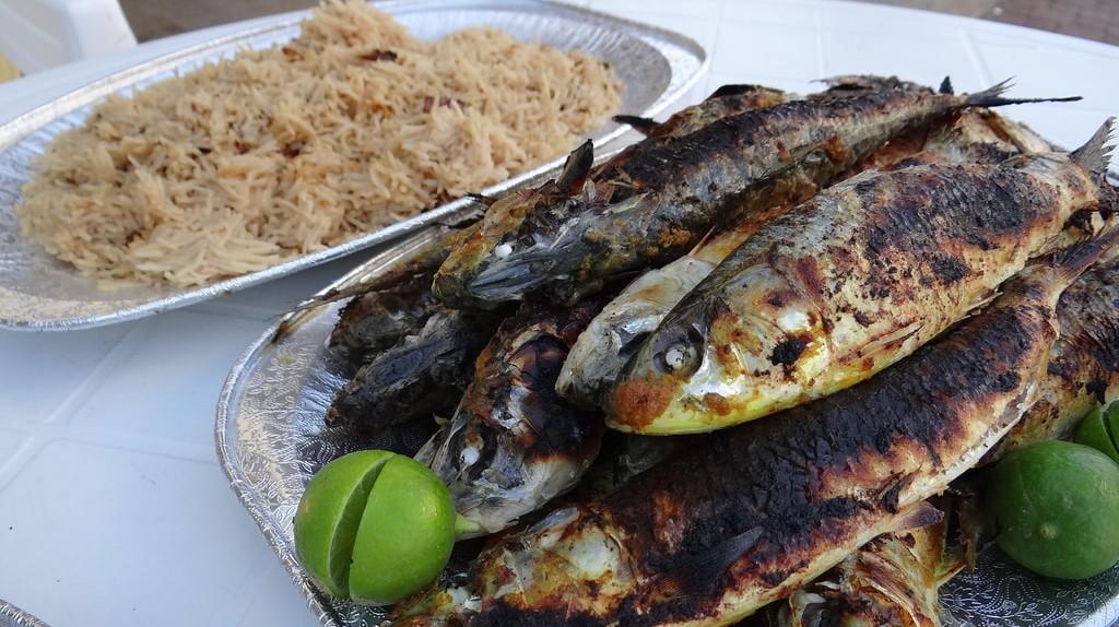 Salalah sardines   © Andrew Eames