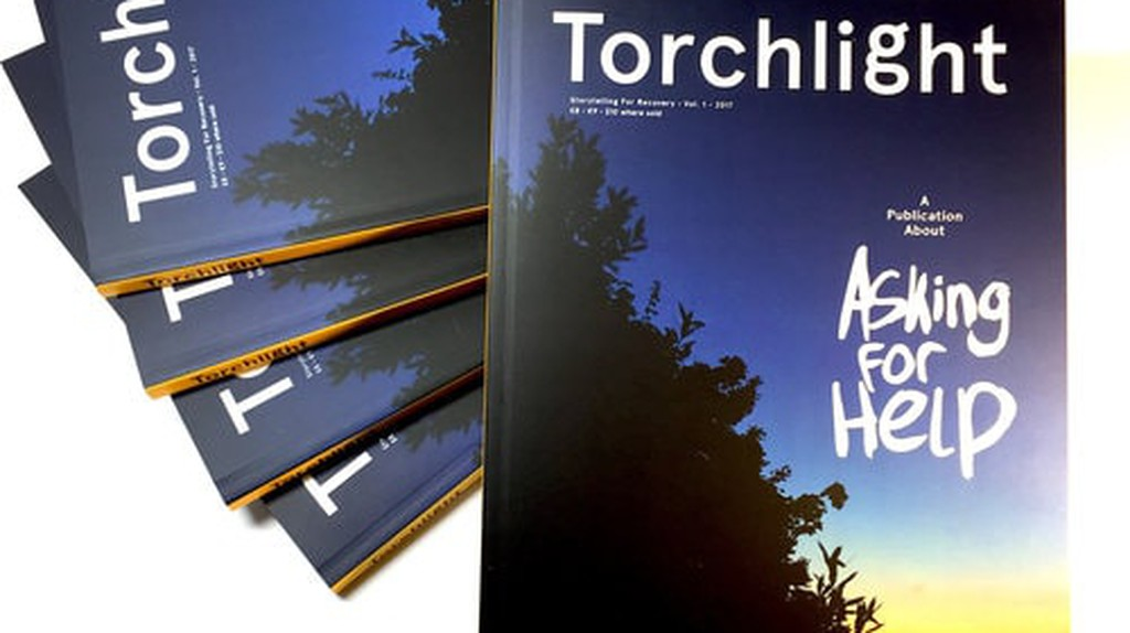Torchlight the Publication About Mental Health   © Kevin Braddock/ Courtesy of Torchlight & Kevin Braddock