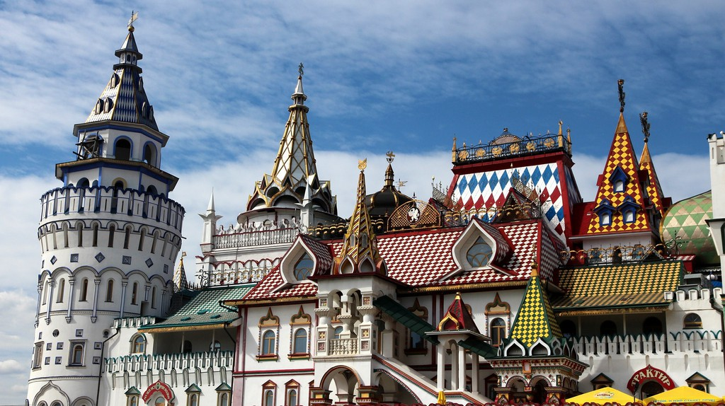 Izmailovo Kremlin in the Moscow area