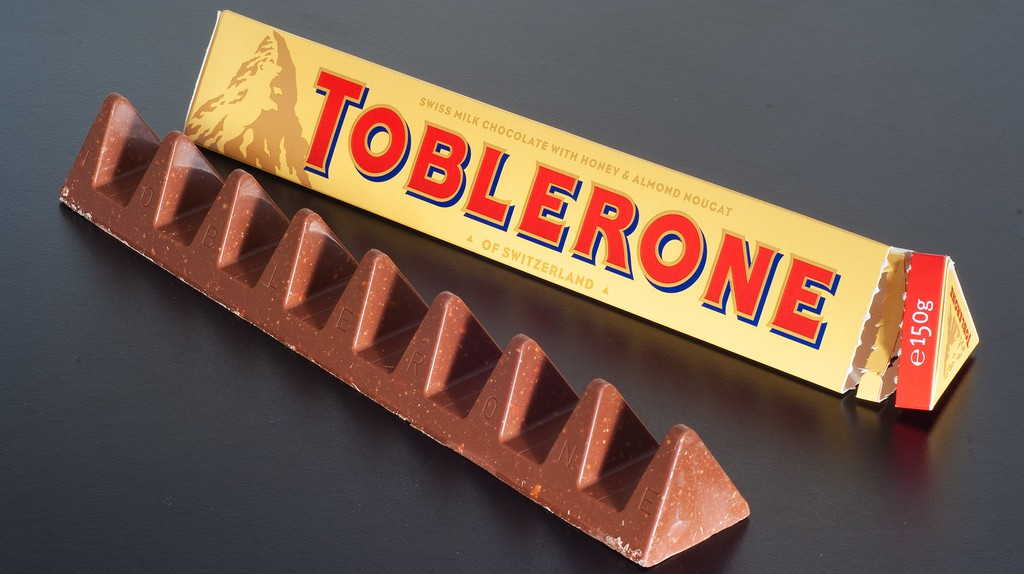 Toblerone first came into the world in 1908   © Ashley Pomeroy/ Wikicommons