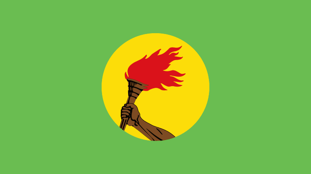 Zaire National Flag © Wikipedia