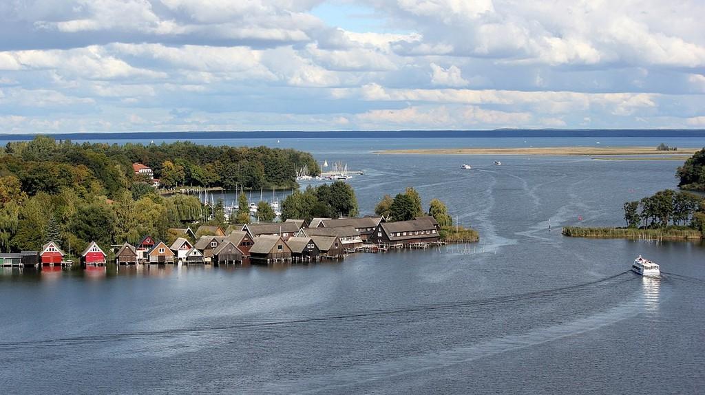 Lake Müritz in Röbel