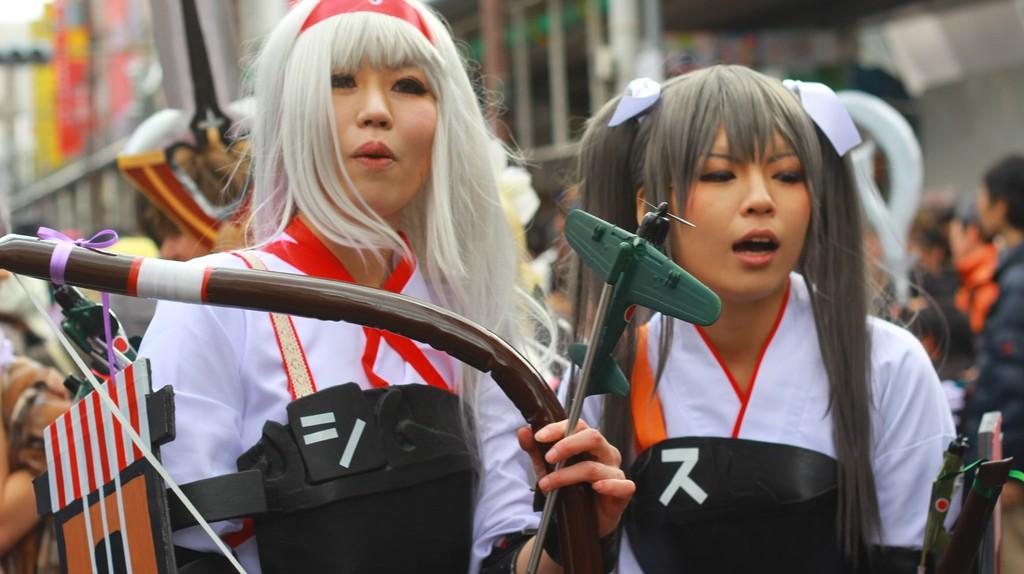 Osaka's Largest Cosplay Festival, the Nipponbashi Street Festa