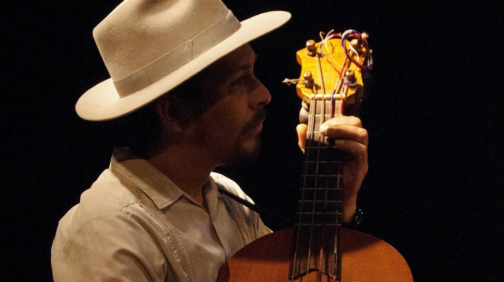 Son Jarocho guitarist