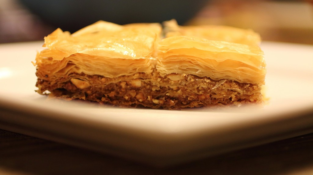 Baklava is one of the traditional pies of the Balkans