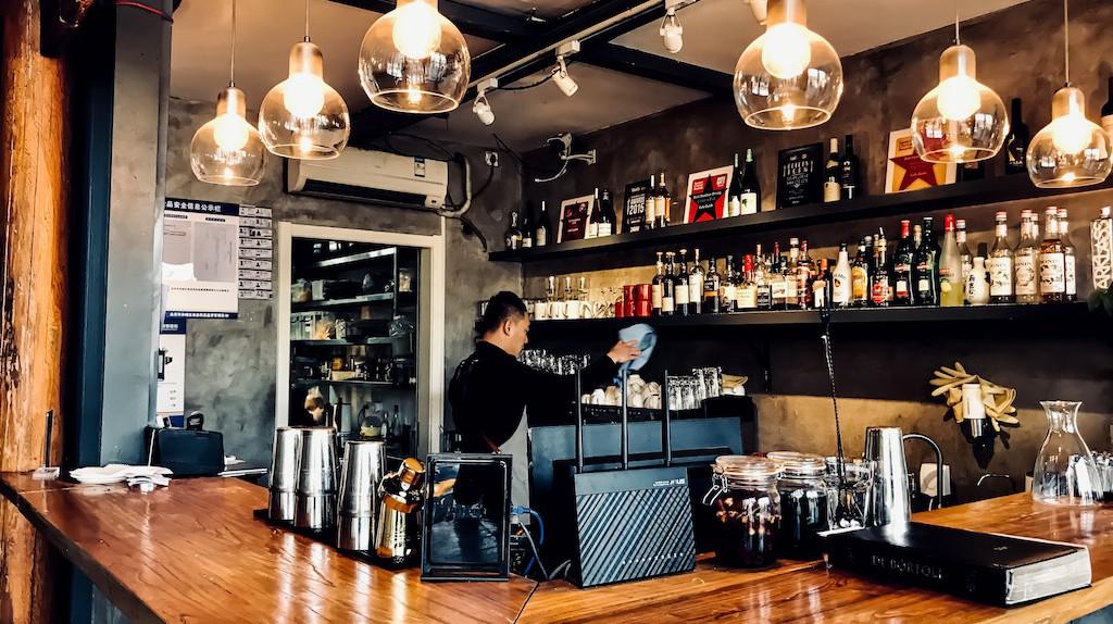 Café Zarah is a Beijing institution
