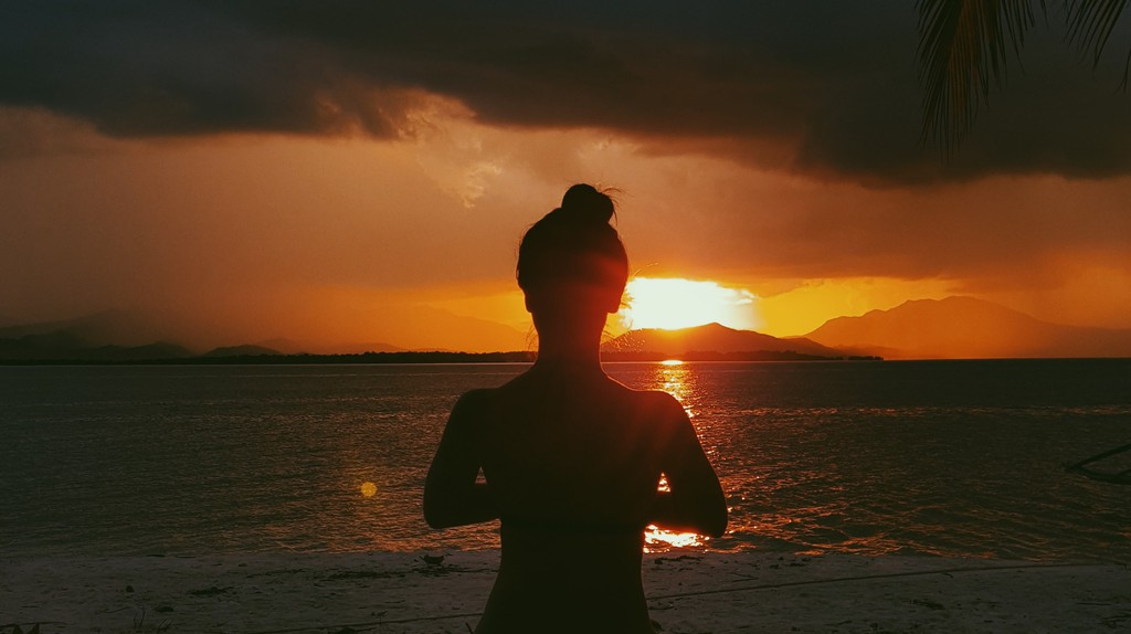 Sunset at Isla Pandan, Honda Bay, Palawan