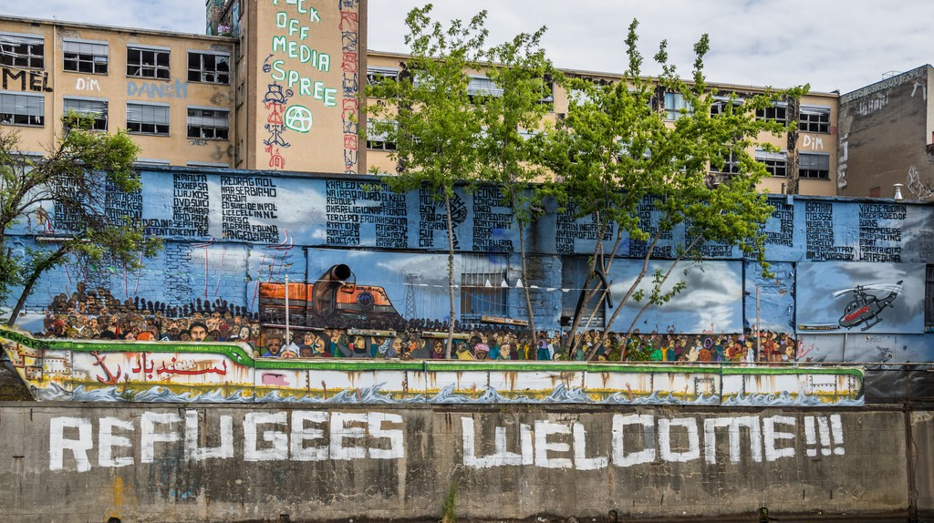 Refugees Welcome Mural | © Susanne Nilsson / Flickr