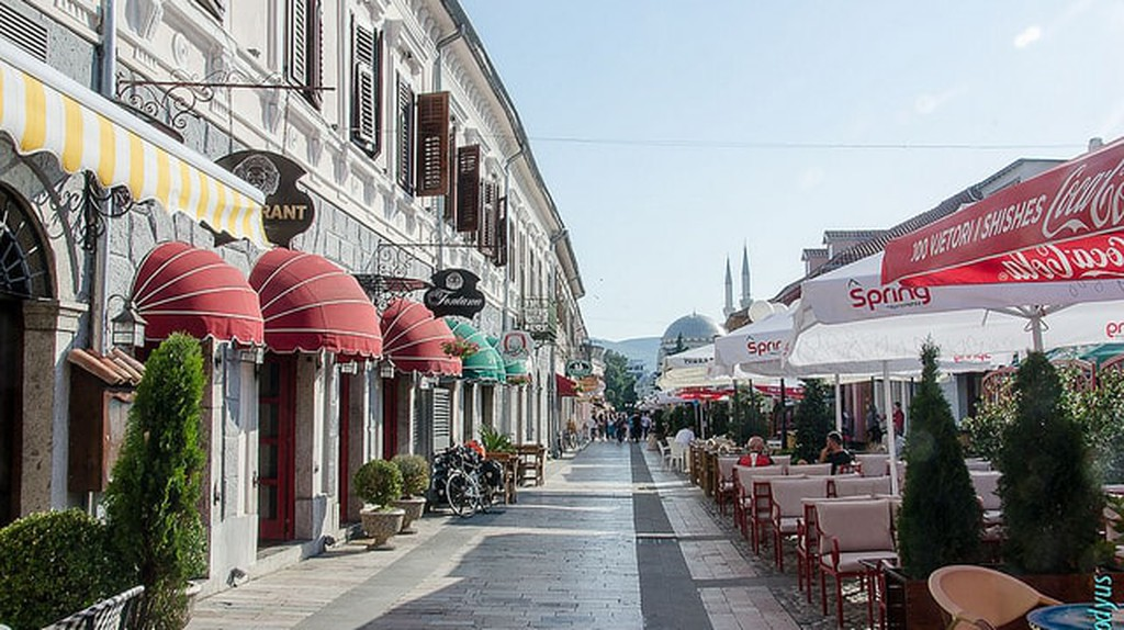 The Pedonalja in Shkodra| ©Claude Petitjean/Flickr