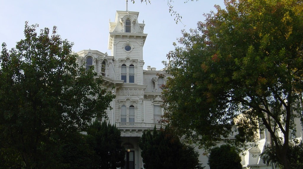 The Governor's Mansion in Sacramento, CA