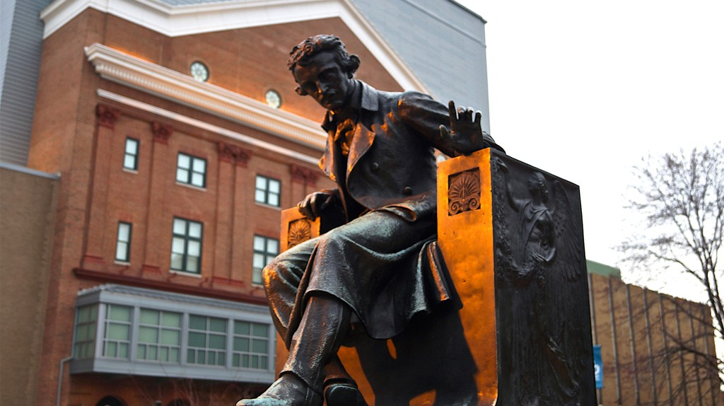 Edgar Allan Poe Statue, University of Baltimore