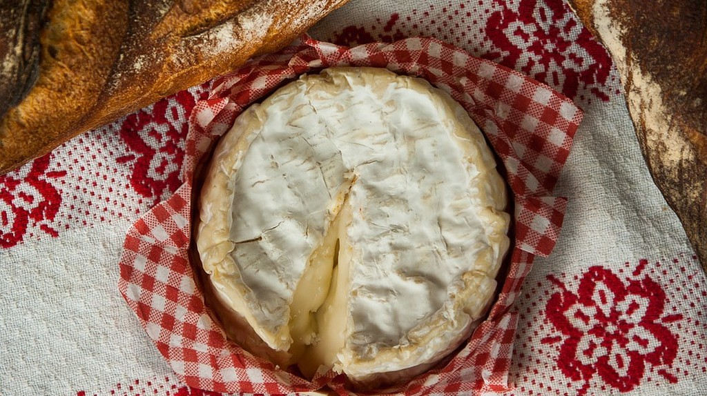 Creamy Camembert cheese is native to Normandy