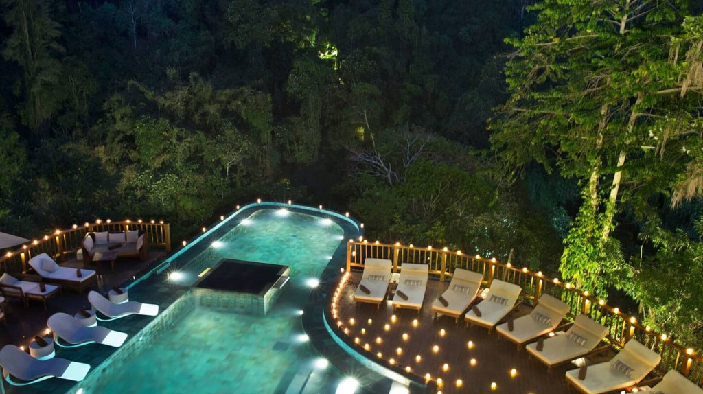 Hanging Gardens of Bali infinity pool | © Hanging Gardens of Bali