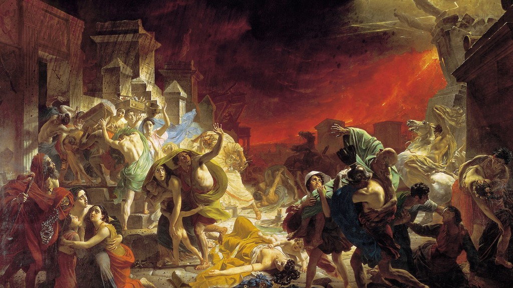 Karl Briullov, The Last Day of Pompeii (1827–1833)