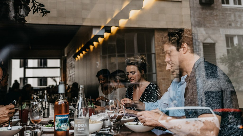 Diners at Longrain in Surry Hills