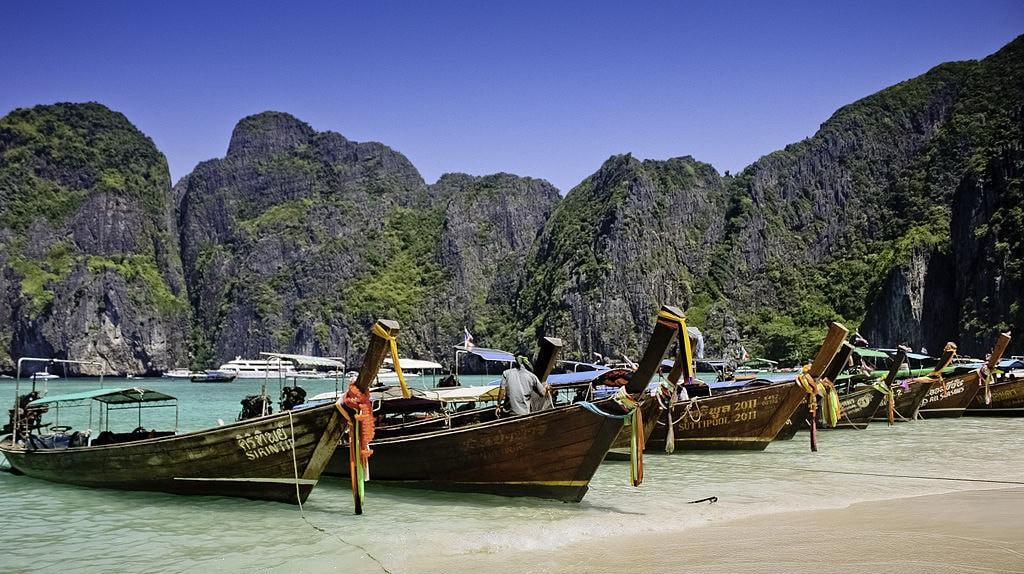 Maya Bay | © WikiCommons