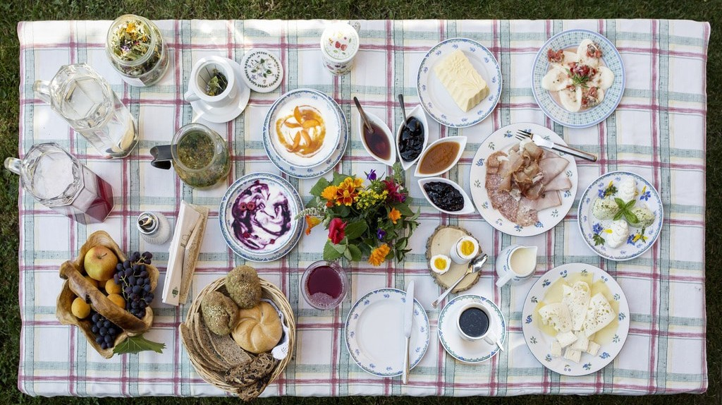 A traditional Austrian spread