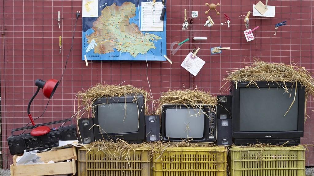 "Monitor Room, ""Prison"" series, 2014"