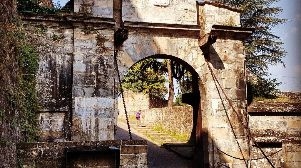 Portal in Pamplona, Spain