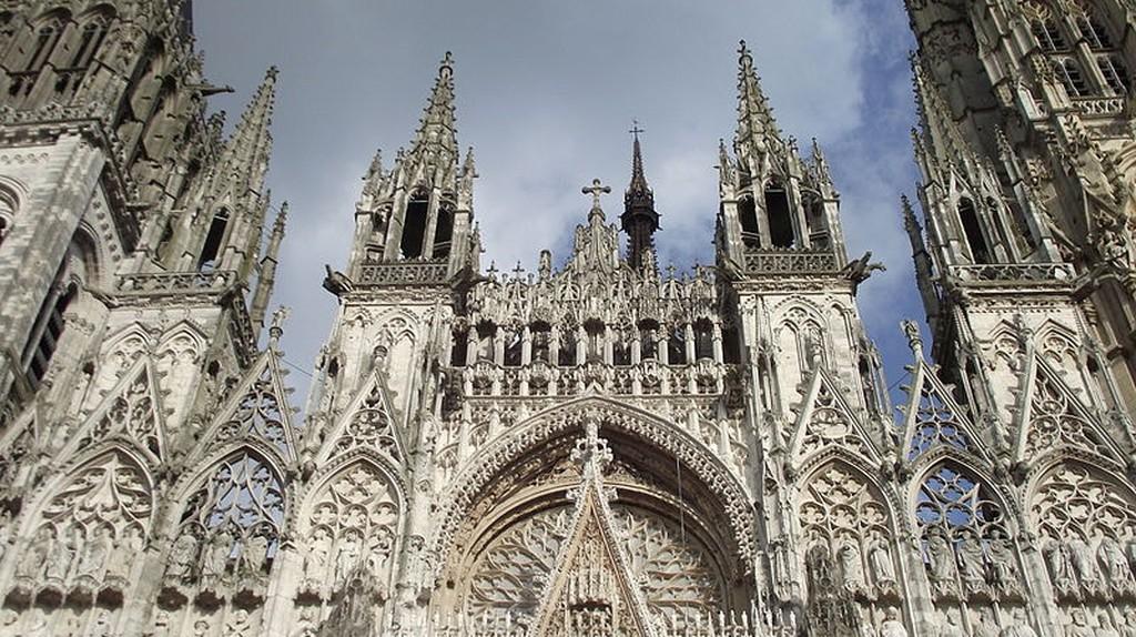 Facade of the Rouen Cathedral